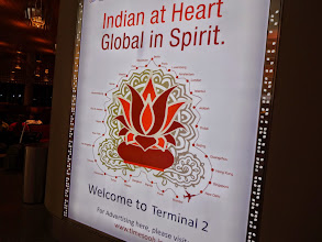 Photo: I couldn't find my hometown Fukuoka in their Global in Spirit. At the Terminal 2, Mumbai Chhattrapati Shivaji International Airport. 23rd September updated -http://jp.asksiddhi.in/daily_detail.php?id=656