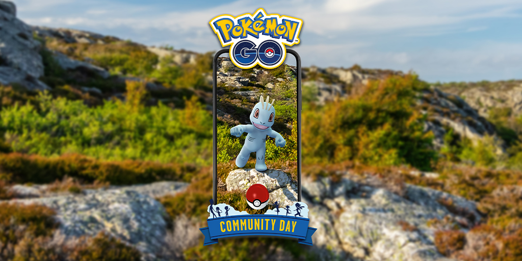 Community Day Pokémon GO - Januari 2021 - Machop [image by pokemongolive.com]