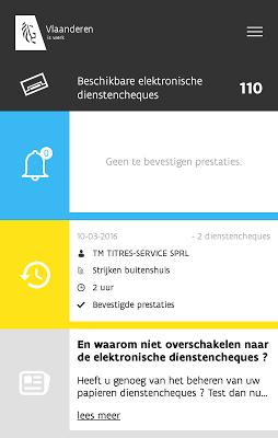 Dienstencheques by Sodexo - screenshot