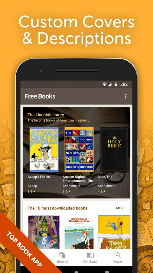Free books unlimited library android apps on google play free books unlimited library screenshot fandeluxe Choice Image