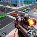 Traffic Sniper Strike Terrorist Shooter Gun War icon