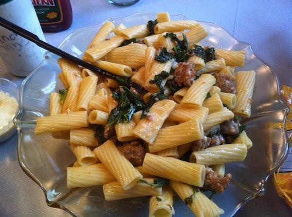 Rigatoni With Sausage And Kale Recipe