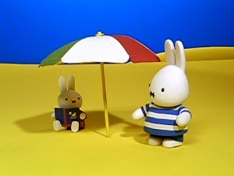 Miffy in the Shade/Miffy's Flower Pot
