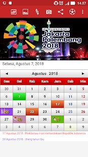 Indonesia Calendar 2
