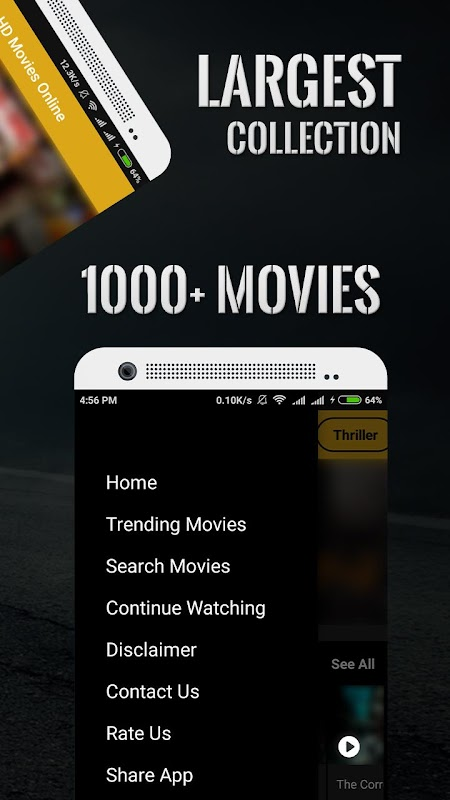 HD Movies Online 2018 - Popular Movies screenshots