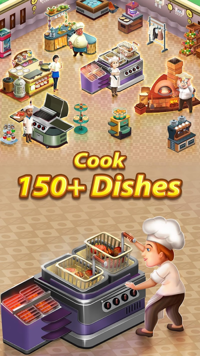 Star Chef: Cooking & Restaurant Game Screenshot 1