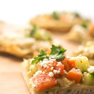 Flatbread Pizza Feta Cheese Recipes.