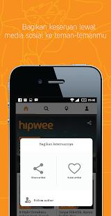 Hipwee- screenshot thumbnail