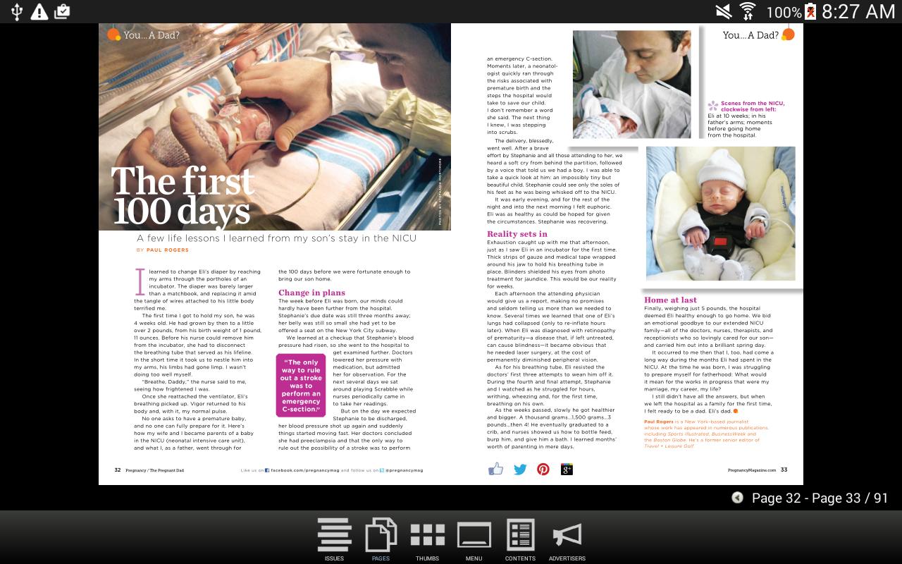 Pregnancy Magazine - screenshot