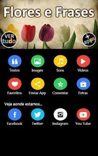 Flores e Frases - náhled
