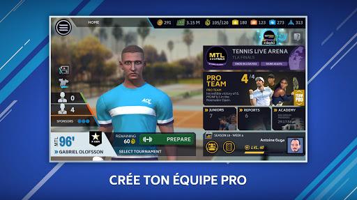 Tennis Manager 2020 APK MOD – Pièces Illimitées (Astuce) screenshots hack proof 2