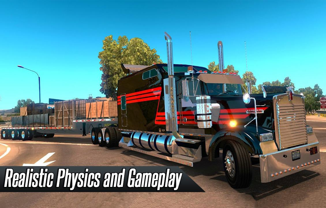 usa lkw simulator 3d android spiele download. Black Bedroom Furniture Sets. Home Design Ideas