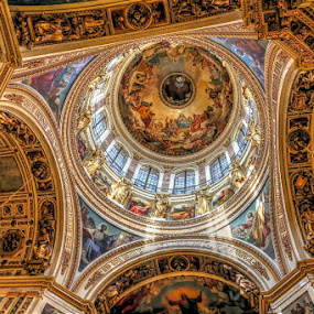 Church by Rakesh Das - Buildings & Architecture Places of Worship ( holiday, church, st petersberg, travel, worship )