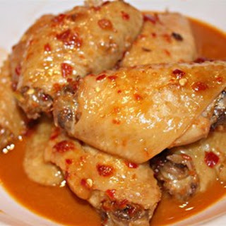 Spicy Chinese Chicken Wings