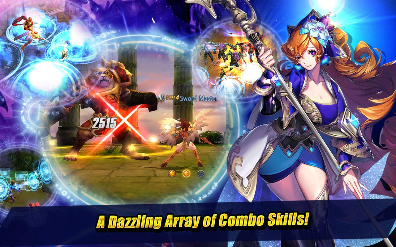 Screenshots of Sword of Chaos for iPhone