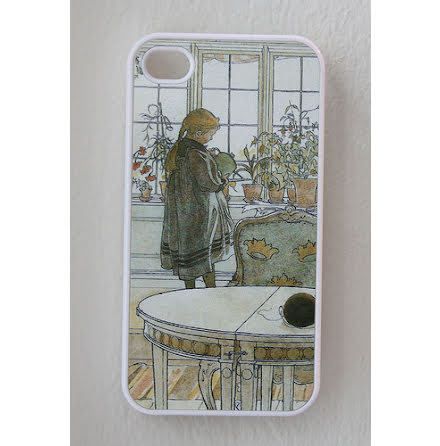 Carl Larsson - Blomsterfönstret - iPhone 4/4S Cover