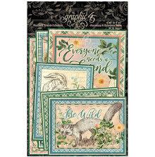 Graphic 45 Ephemera & Journaling Cards - Woodland Friends