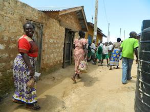 Photo: BBN Committee Members touring the community looking for registered membershttp://koru.or.ke