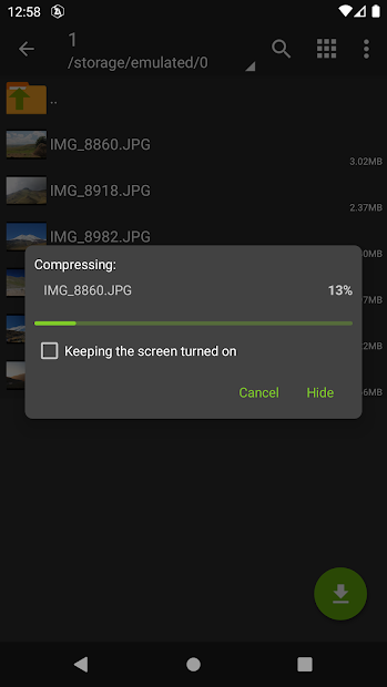 Screenshot - ZArchiver