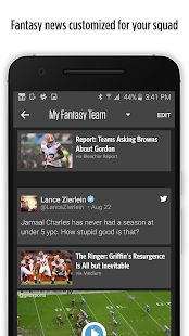 Bleacher Report: Team Stream- screenshot thumbnail