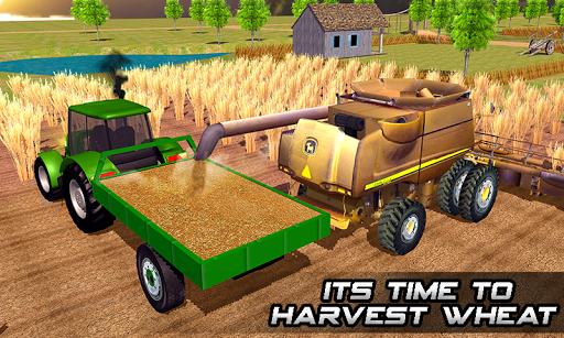 Farming sim 2018 - Tractor driving simulator apkdebit screenshots 1