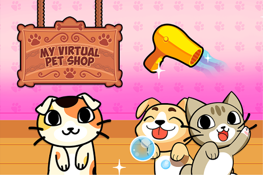 My Virtual Pet Shop - Cute Animal Care Game  screenshots 4