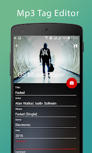 OS Music Player Screenshot