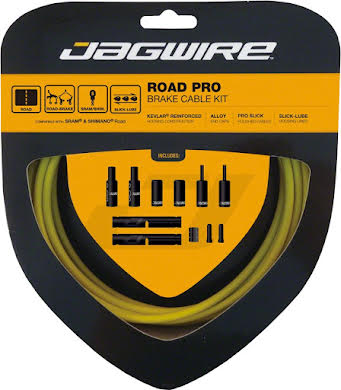 Jagwire Pro Polished Brake Cable Kit Road SRAM/Shimano alternate image 8