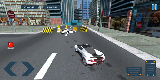 Police Car Drift Simulator screenshot 2