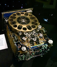 Photo: Hubble Space Telescope was originally launched with three of these reel-to-reel Engineering and Science Tape Recorders. During subsequent servicing missions, two were replaced by Solid State Recorders.