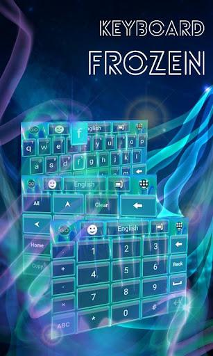 無料个人化Appの冷凍アイスキーボード|記事Game