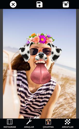 Selfie Camera Editor: Take Selfies & Edit Photos Android App Screenshot
