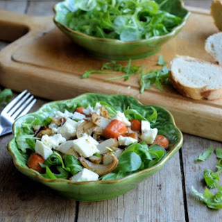Moroccan Salad with Roasted Vegetable & Feta Cheese