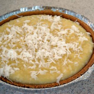 Quick Coconut Cream Pie