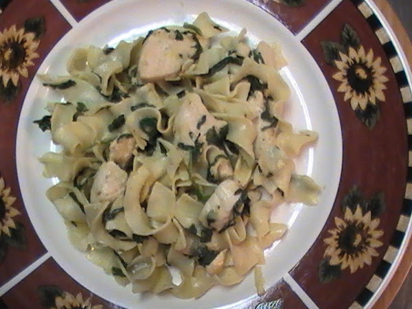 Parmesan Chicken & Noodles Recipe