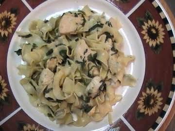 Parmesan Chicken & Noodles