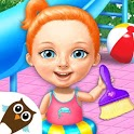 Sweet Baby Girl Cleanup 4 - House, Pool & Stable icon