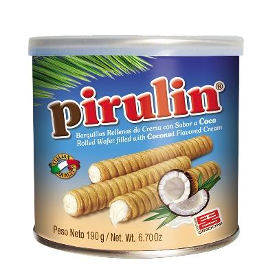 chocolate pirulin coco lata 190gr