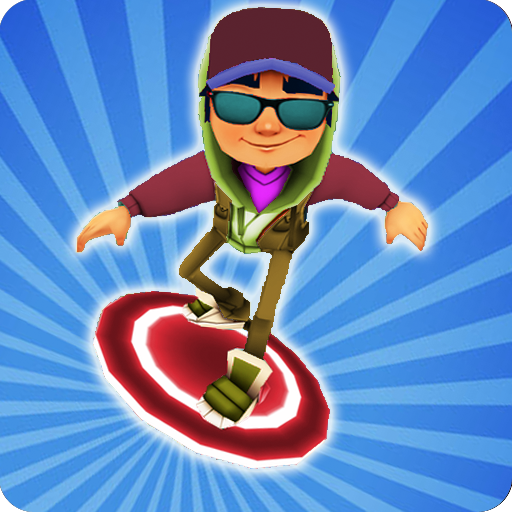 Subway Train Surf Road Run 3D