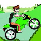 Ben motorbike hill climb game