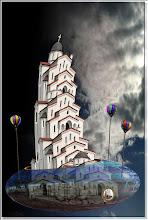 Photo: 2009 07 05 - D 109 D - Bimsbert und der Tempel im Katzenbusch