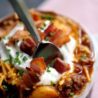 Stuffed Baked Potato Chili
