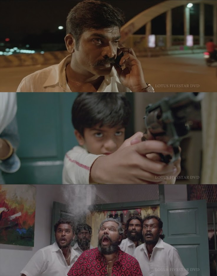 tamil vijay sethupathi son has gun and shooting