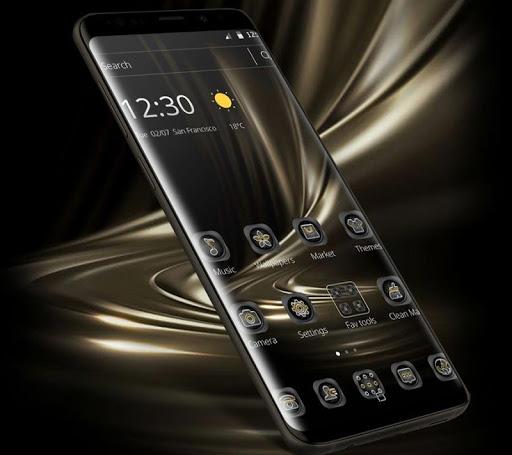Black Gold Business Theme Apk 2