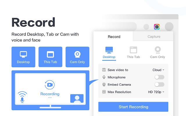 Awesome Screenshot Screen Recorder سوق Chrome الإلكتروني
