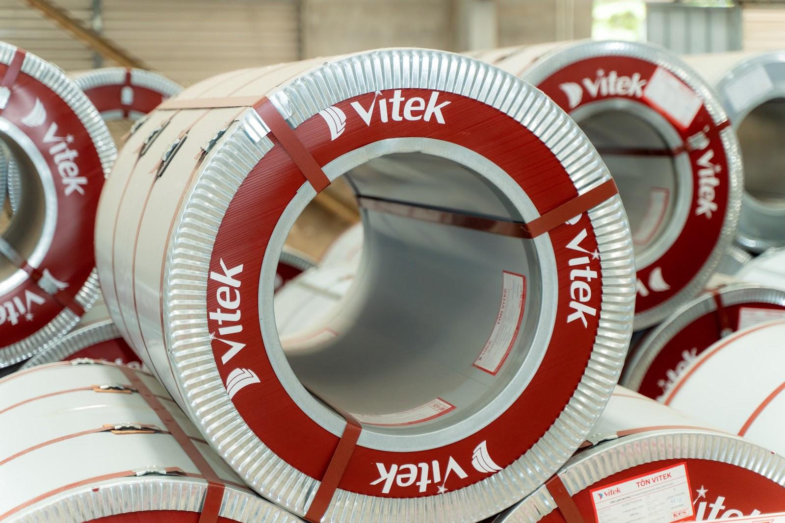 Thép cuộn Vitek với chất lượng đảm bảo và giá thành phải chăng