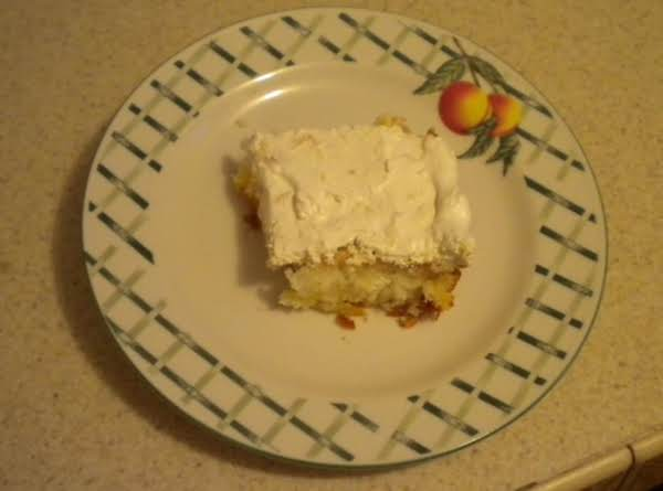 Pineapple Delight Angel Food Cake By Freda