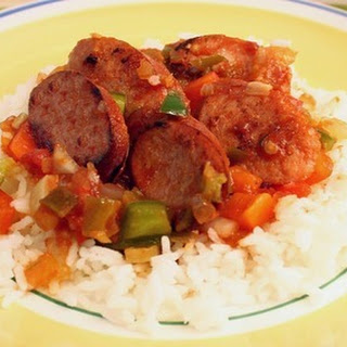 Zesty Sausage and Rice Skillet Dinner