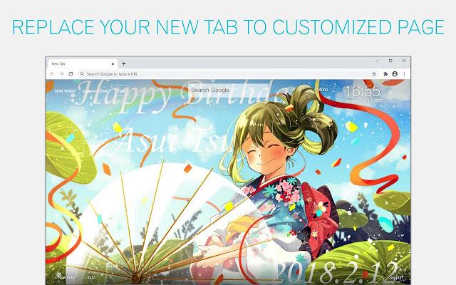 MHA Asui Tsuyu Wallpaper HD Custom My Hero Academia Asui Tsuyu NewTab