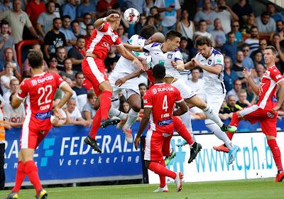 Nnathan De Medina et Mouscron ont joué un mauvais tour à Anderlecht